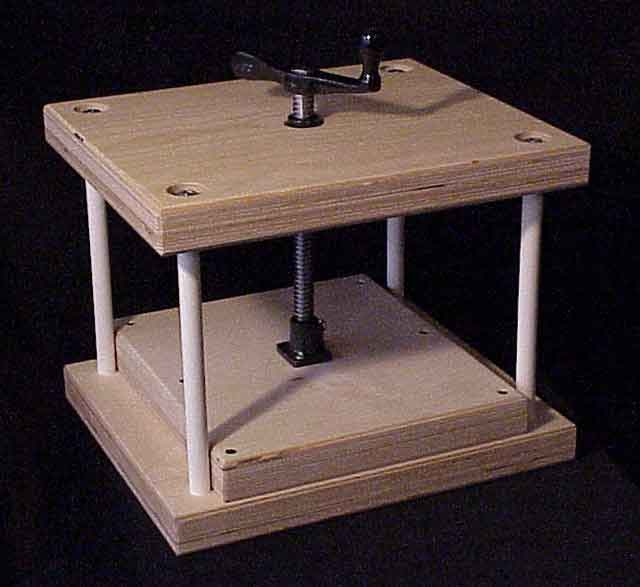 how to use a book binding press